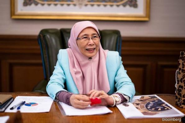 Wan Azizah gives a boost to Malaysian para athletes