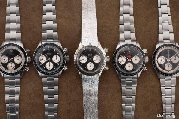Six Rolexes expected to clear US$1m at auction