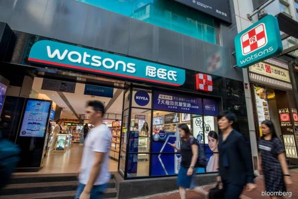 Tencent is said to mull bid for US$3 bil A.S. Watson stake