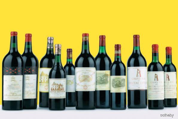 Drinks: Thirst for rare wine and whisky drives surge in auction sales
