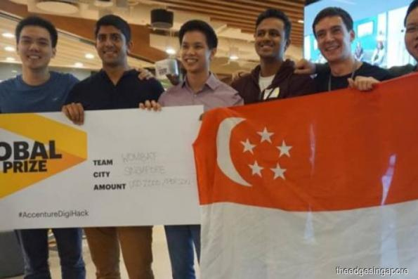 Singapore team wins Accenture's first globally-linked hackathon