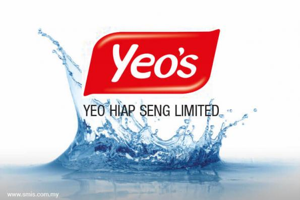 Yeo Hiap Seng posted 1Q earnings of nearly S$139 mil on disposal gain