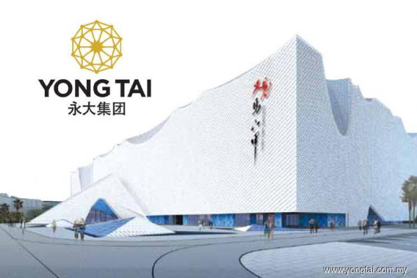 Yong Tai up 3.90% on positive technicals