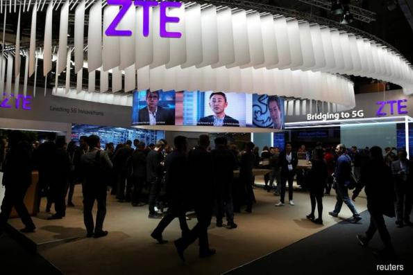 ZTE executive expresses 'deep humiliation' in farewell letter
