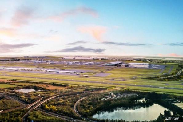 Heathrow plans sloping runway to cut costs by 2.5 billion pounds