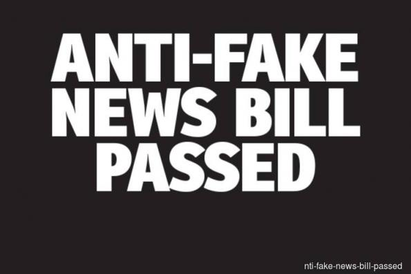 Dewan Rakyat passes Anti-Fake News Bill, PAS MPs vote 'Yes'