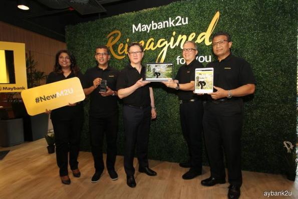 推加强版Maybank2u网站 料今年网上交易量增50%