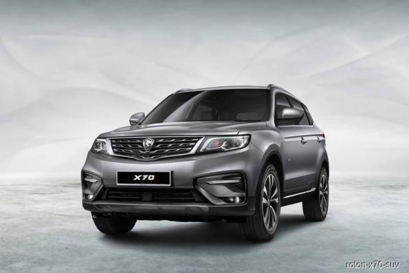 Proton kicks off X70 SUV previews