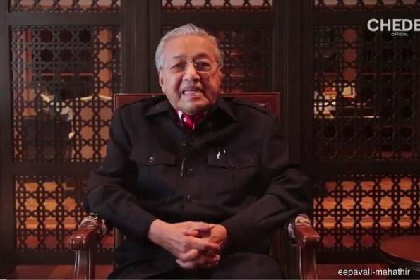 Dr Mahathir wishes Malaysian Hindus happy Deepavali