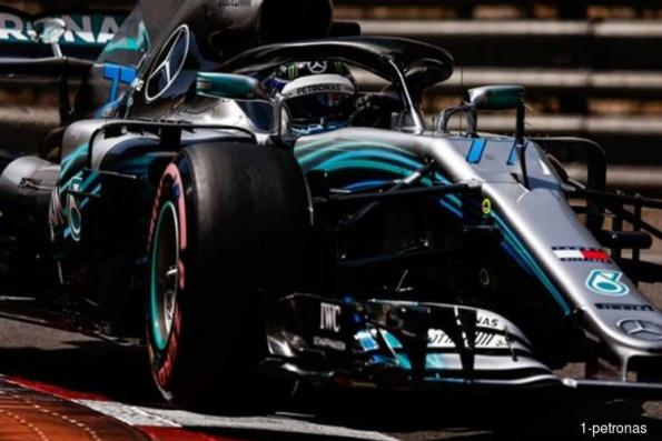 Petronas celebrates fifth Formula One World Constructors' Championship with Valtteri Bottas