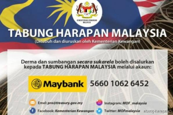 Tabung Harapan reaches RM202.72 mil, to be used to pay federal debt
