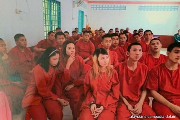 Cambodia frees all 47 Malaysian detainees