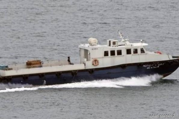 Supply vessel 'Ocean Cooper 2' sinks in Malaysian waters