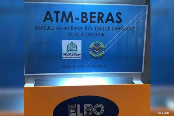85 mosques in Kuala Lumpur to have rice ATM machines
