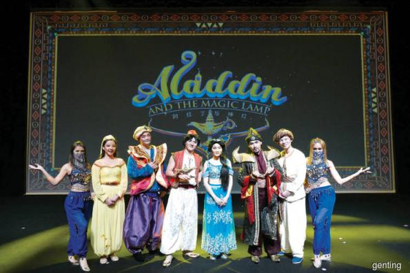 Aladdin and The Magic Lamp goes high-tech at Resorts World Genting