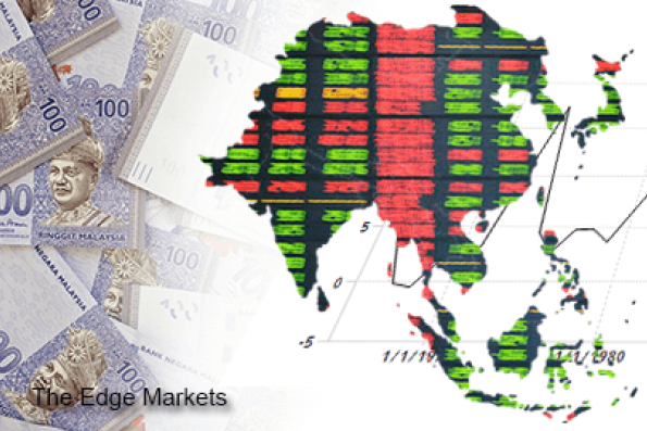 Global equity market gains help Asia FX, rupiah up on c.bank intervention