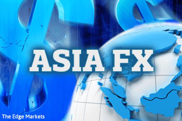 Asian currencies drift below recent highs, focus on Trump speech
