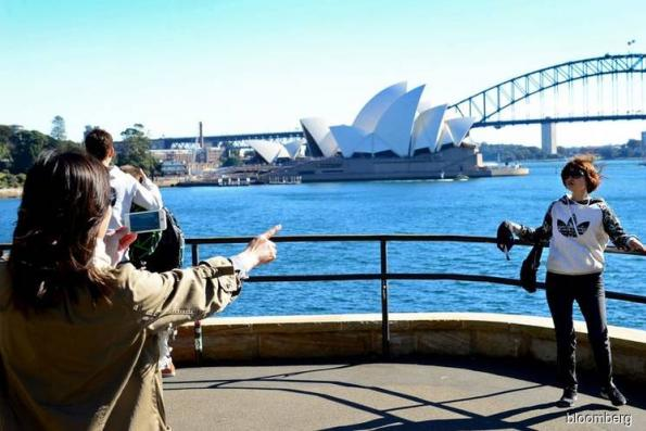 Chinese and Indian tourists visiting Australia surge to record