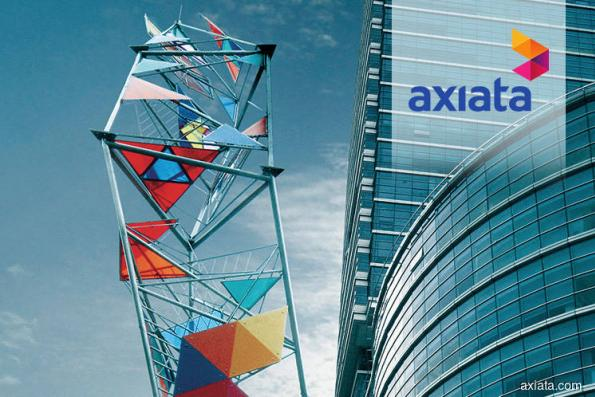 Axiata down after reporting RM3.36b second quarter net loss