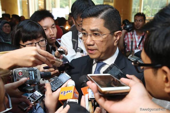 Up to Umno MPs to join whatever political party, as long as it's Pakatan — Azmin Ali
