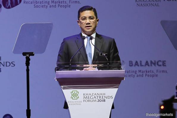 Putrajaya encourages long-term FDIs in greenfield investments, says Azmin