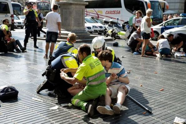 Five suspected terrorists killed after twin attacks on Spain
