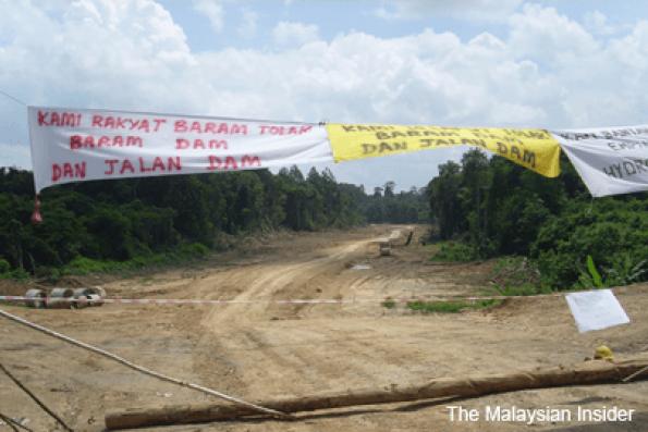 Sarawak natives demand return of land with shelving of Baram dam