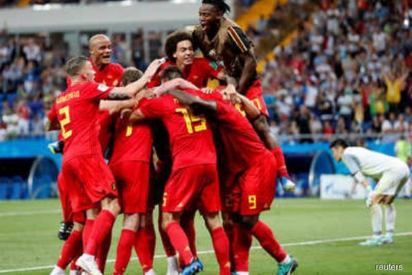Belgium snatch 3-2 win over Japan to set up Brazil clash