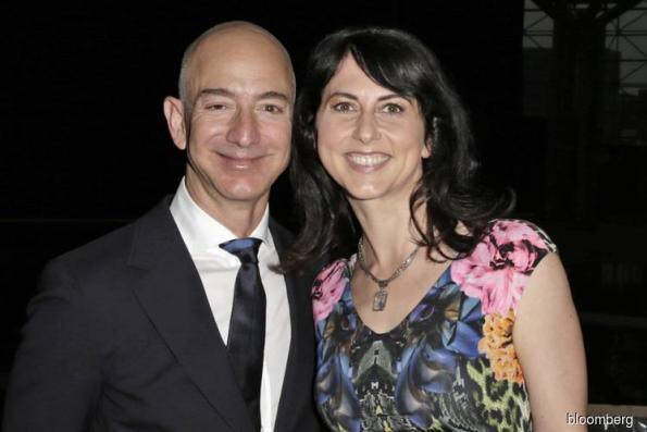 MacKenzie Bezos could become world's richest woman with divorce