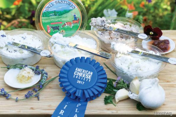 Food: Award-winning goat cheesemaker has a day job in finance