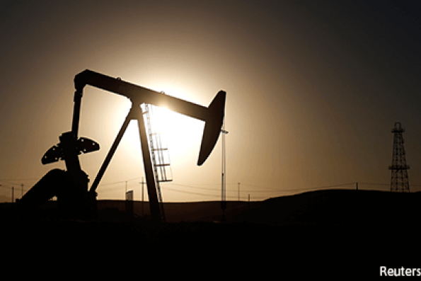 Oil edges up about 1 pct on optimism over non-OPEC output cuts