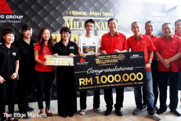 Brian Lim wins The Edge-Mah Sing Millionaire Contest
