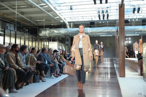 Burberry's mixes no-frills show and streetwear drop