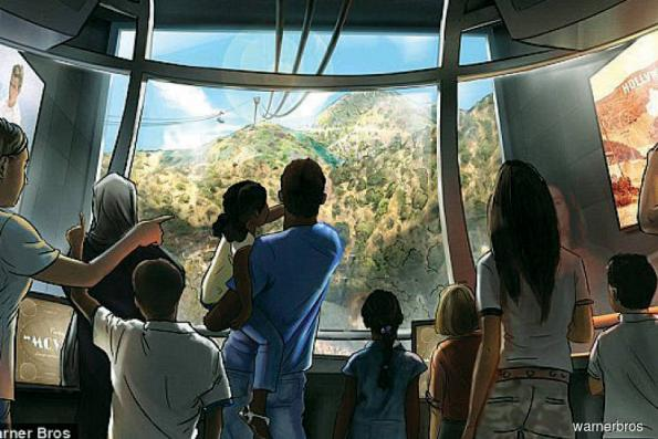 Warner Bros plans US$100m cable car to Hollywood sign