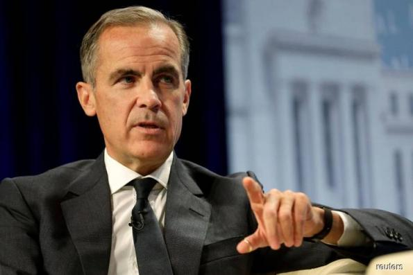 BoE's Carney sees 'uncomfortably high' risk of no-deal Brexit