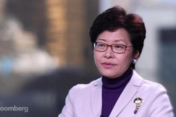 Hong Kong's leader tinkers with economy in the face of 'grave' challenges