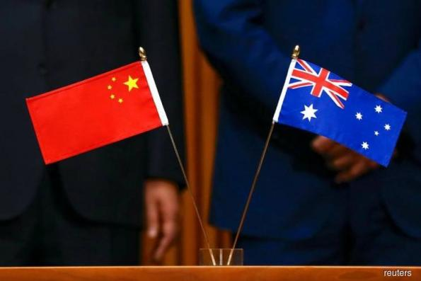 China says had 'professional' encounter with Australian warships in S.China Sea