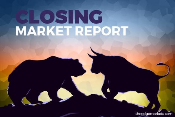 FBM KLCI ends flat despite a rebound on Wall Street