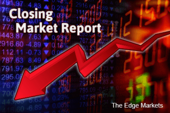 Weaker ringgit, China stock slump, weigh Malaysian shares down