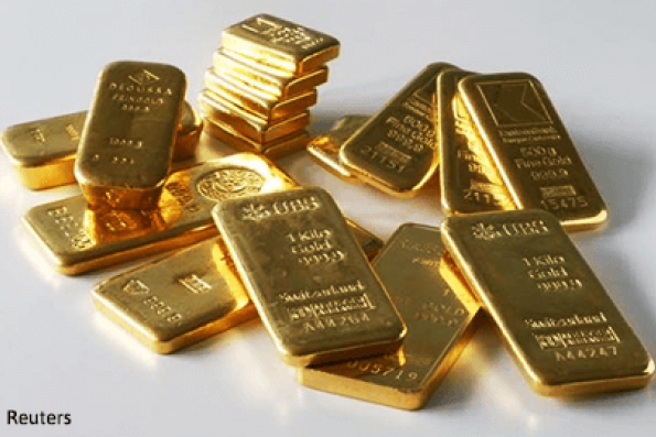 Dovish Fed, weaker US dollar lifts gold to 1-week high