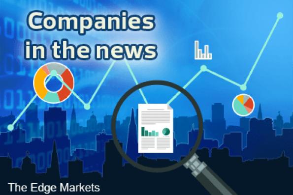 Asia Poly, OCK Group, Puncak Niaga, Tasco, Icon Offshore and AYS Ventures