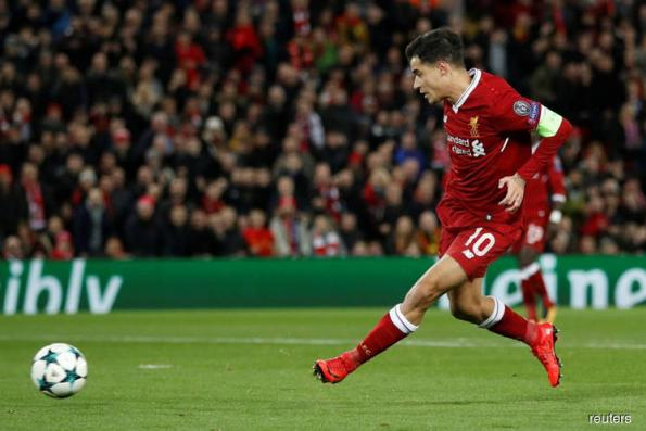 Coutinho hits hat-trick as Liverpool rout Spartak, top group
