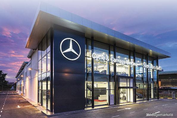 Cycle & Carriage to dispose 49% stake in Mercedes-Benz Malaysia to Daimler AG