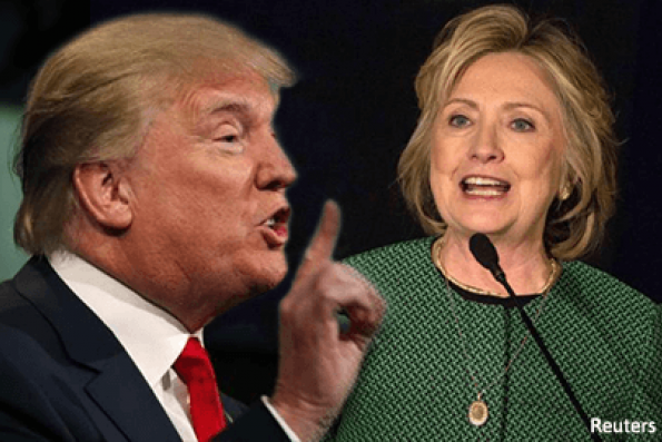 Clinton, Trump get personal to open first debate on economy