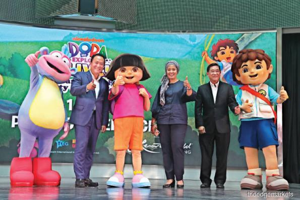 Dora the Explorer comes alive on Malaysian stage