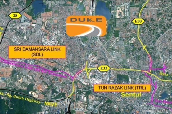 DUKE Phase 2-Tun Razak Link officially opens for traffic