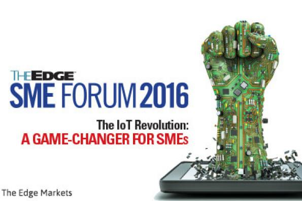 Unlisted & Unlimited:The Edge SME Forum 2016:The IoT Revolution:A game-changer for SMEs