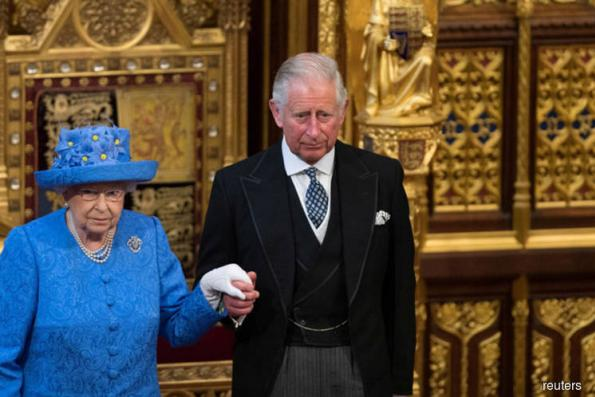 Britain's Queen Elizabeth backs her son Charles to take on Commonwealth role