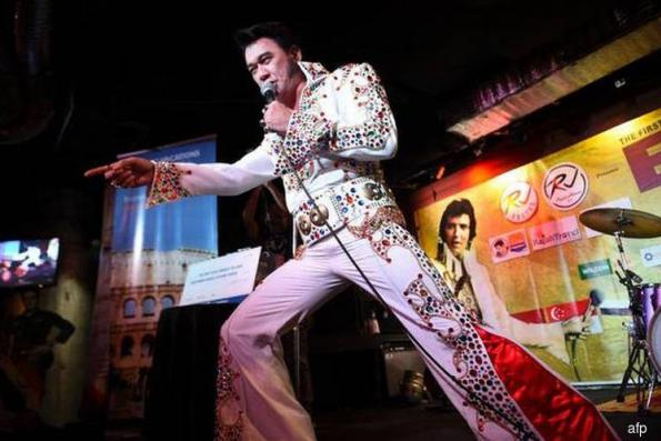 Filipino wins first Elvis in Asia contest