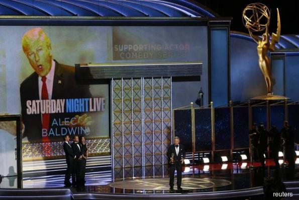 'SNL', 'Big Little Lies', 'Handmaid's Tale' rule at Trump-flavored Emmys